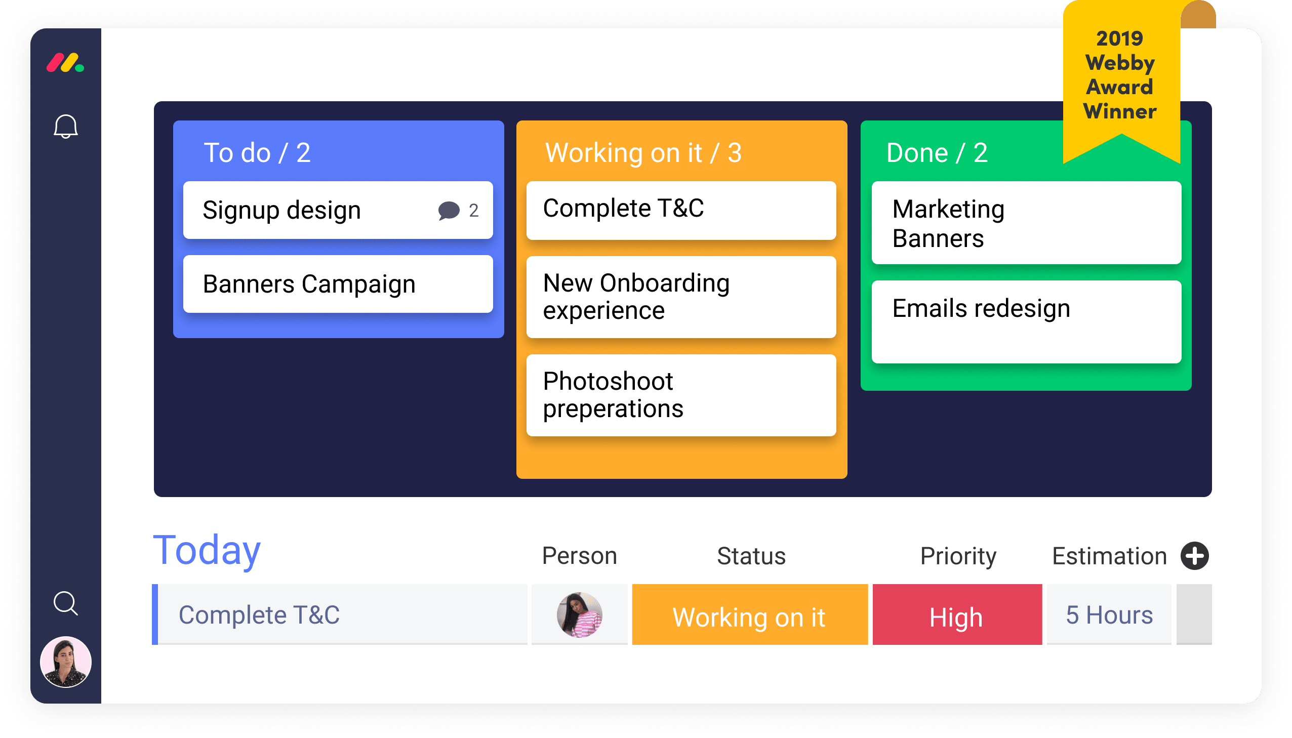 Stay organized with monday.com's lead tracking software