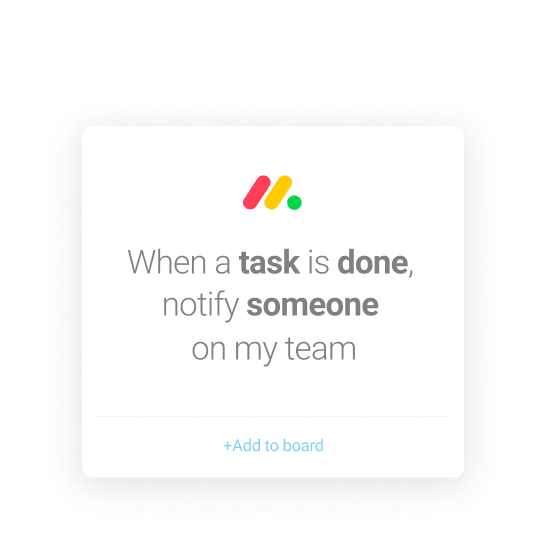 Automate tasks with monday.com's time management software