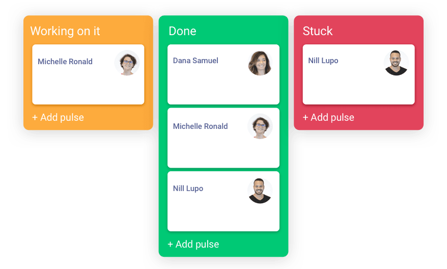 Agile Project Management Software - Kanban View
