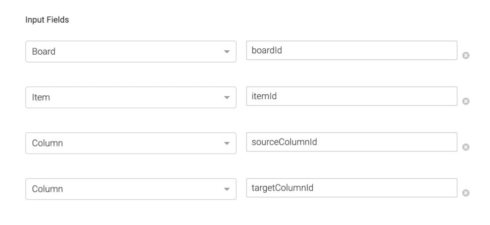 input field