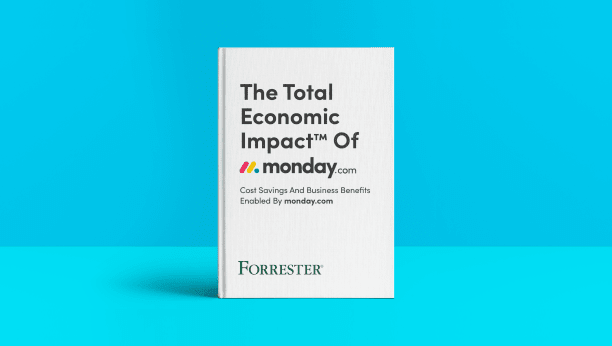 The Total Economic Impact of monday.com Forrester Research Study