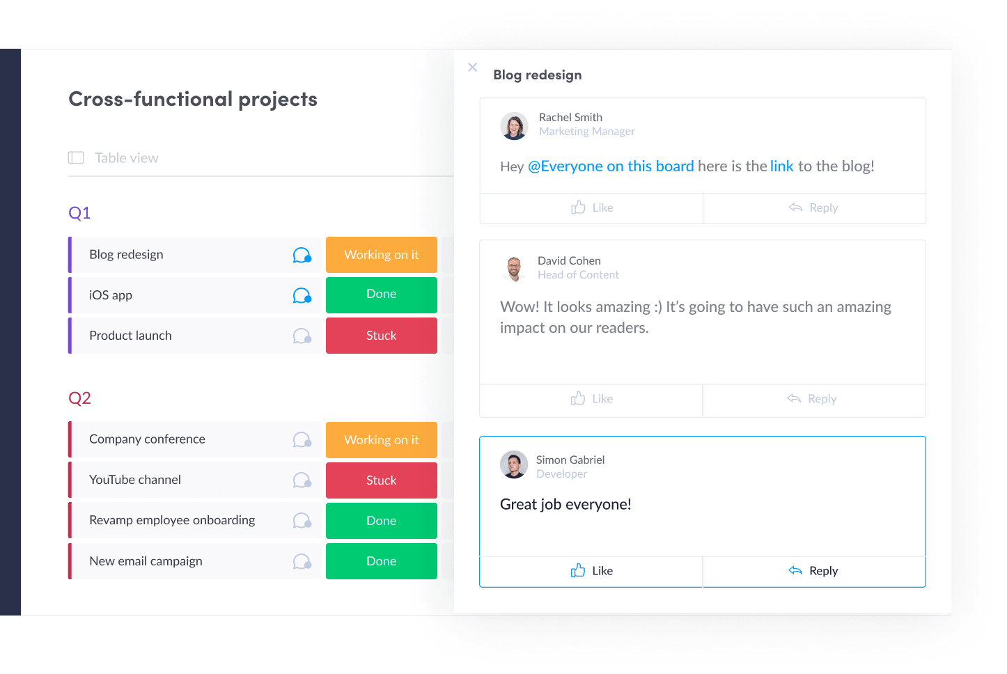 Project Management Software Improves Collaboration