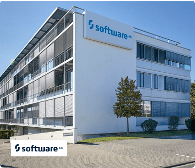 Software AG building with logo