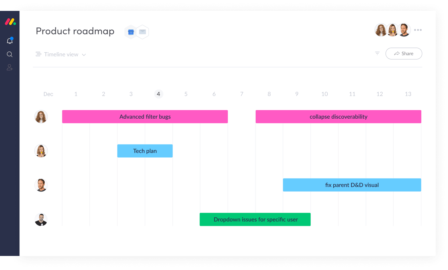 Managing Product Roadmaps with monday.com's Scrum Software
