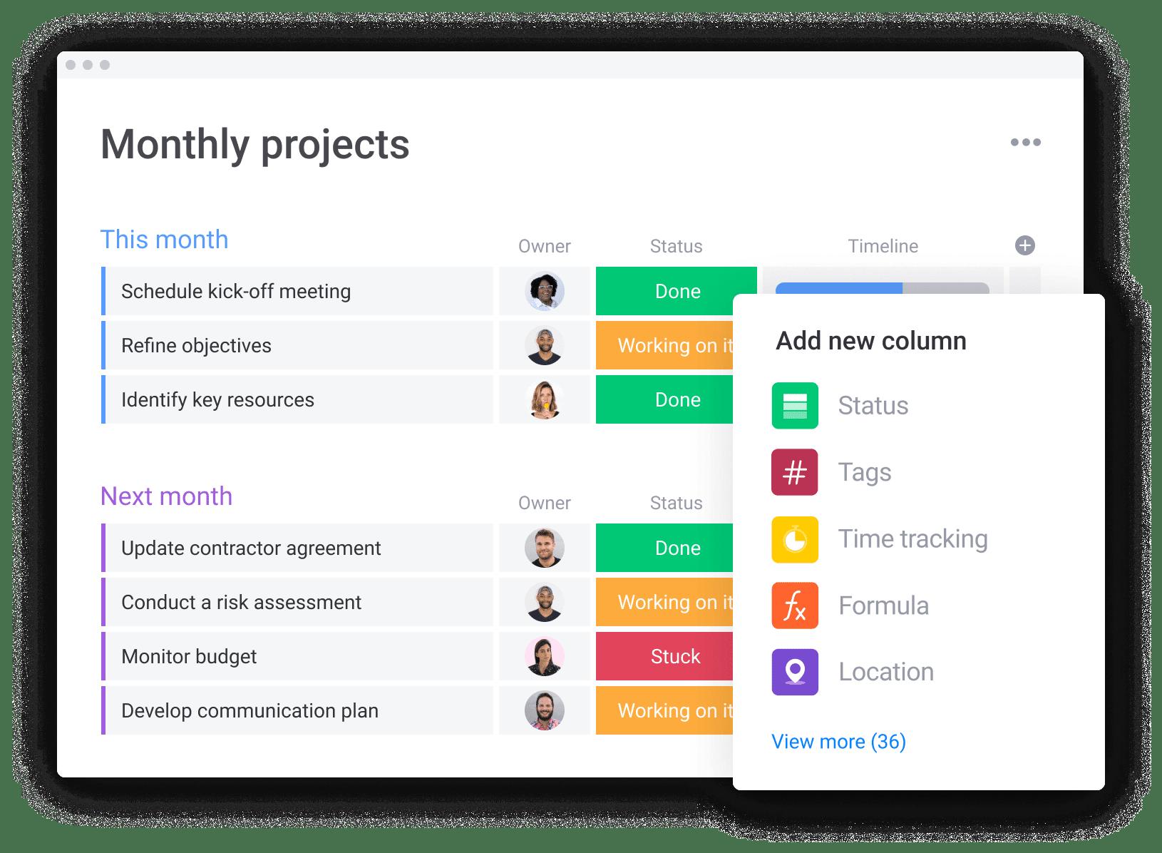 Project Initiation Board