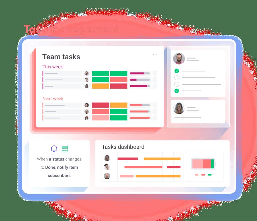 cluster Task management