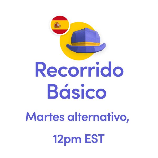 RecorridoBasicoMartesTuesday