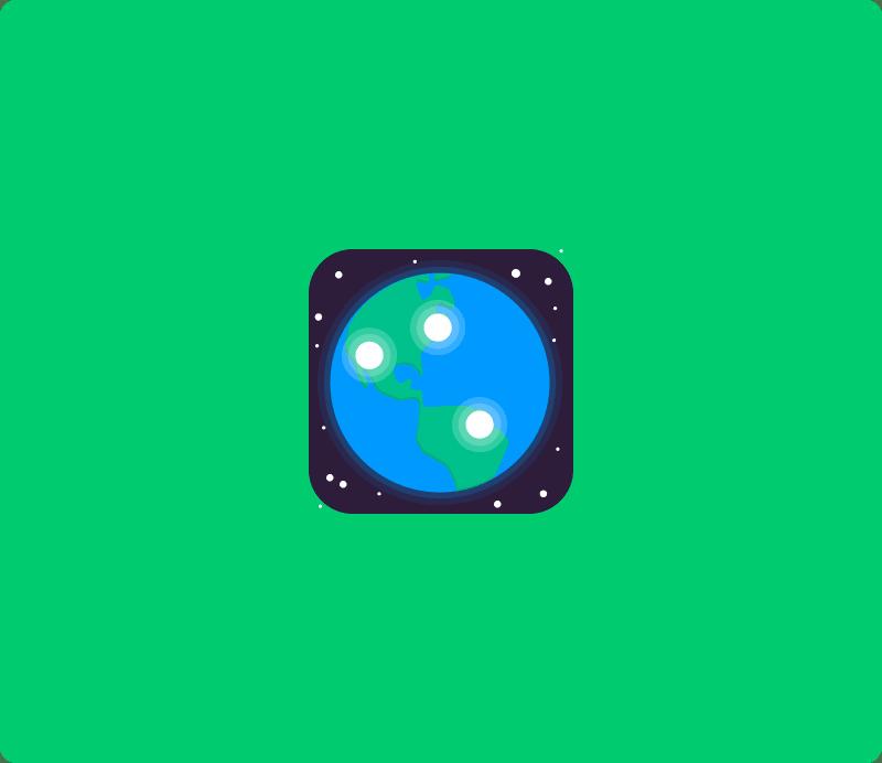 Board to globe