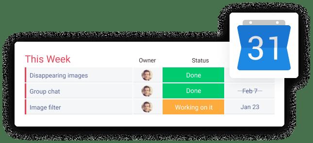 Custom notifications & reminders