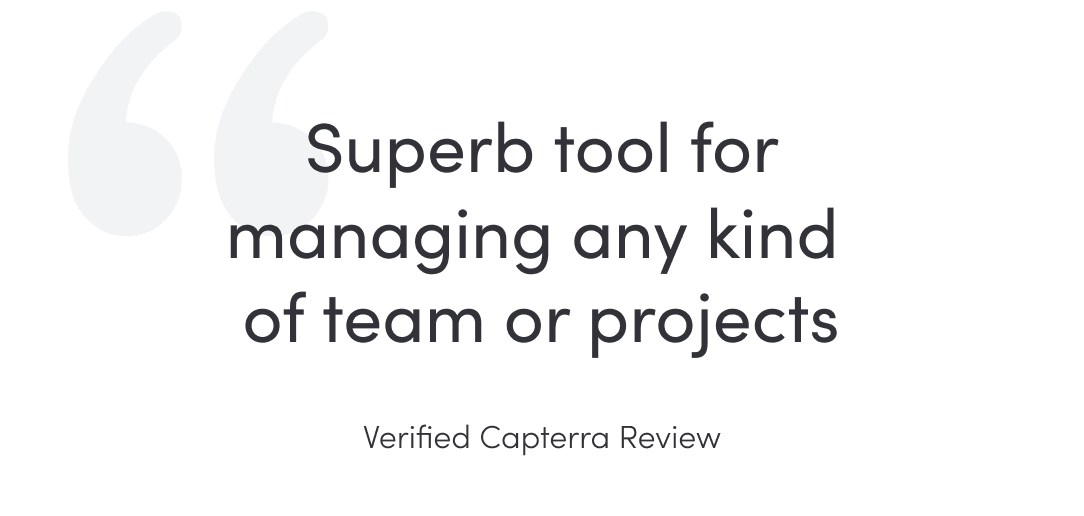 Quote VerifiedCapterraReview