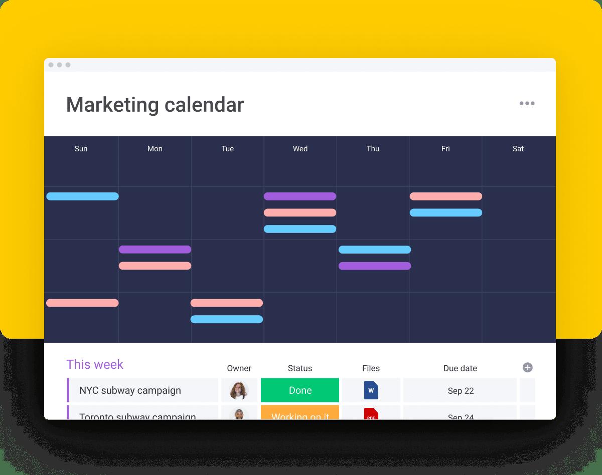 calendar view 1