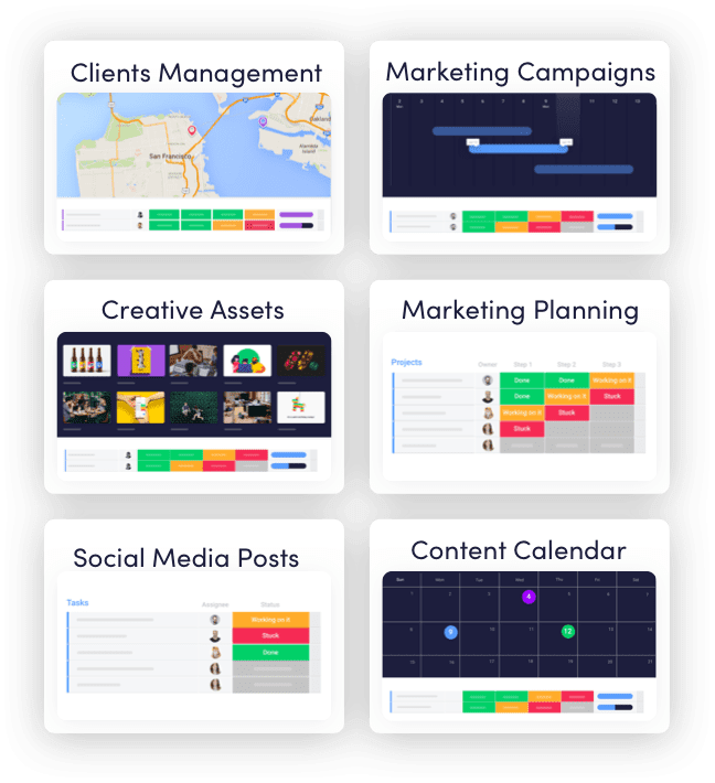 Marketing Management Templates