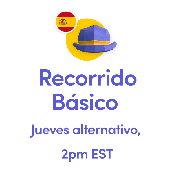 Recorrido Basico Martes Tuesday 2pm