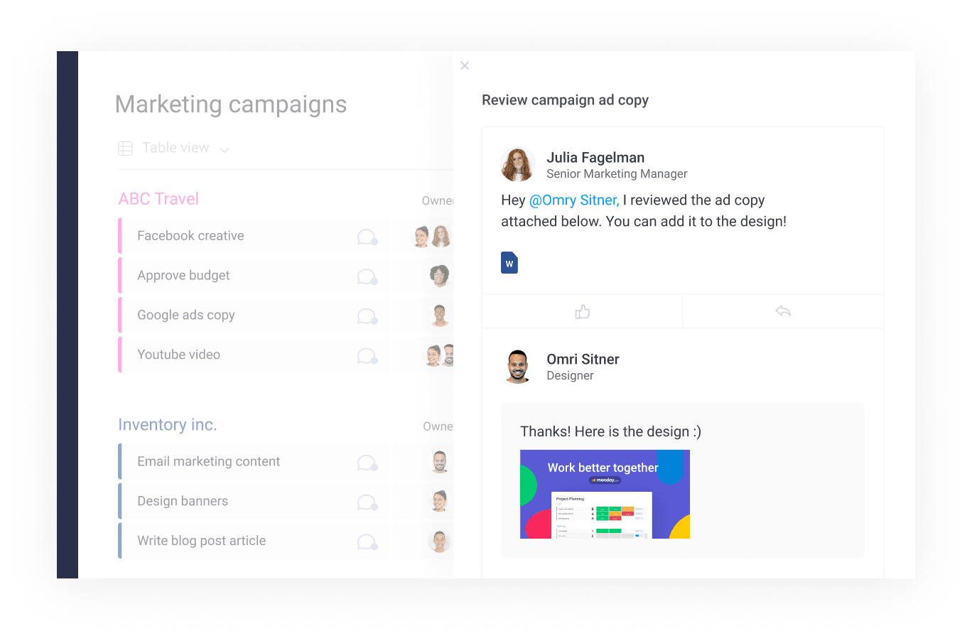 Manage PR with monday.com's Creative Project Management Software