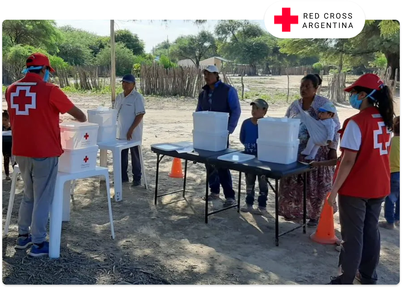 red cross argentina volunteers