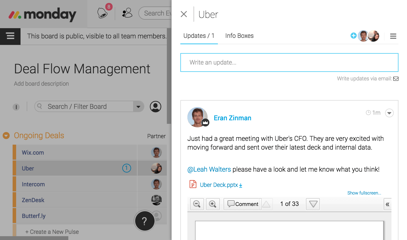 Portfolio Management - Keep Track of Files and Notes