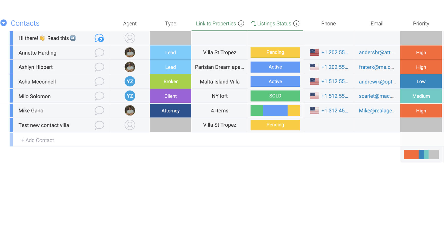 Manage all your contacts in one centralised platform
